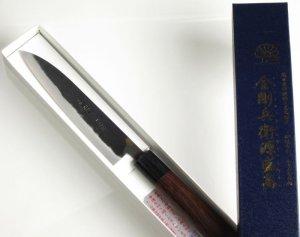 画像3: ペティナイフ 150mm 青紙スーパーシリーズ/切れ味抜群【無料研ぎ直し券付き】