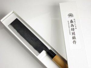 画像3: ・菜切り包丁 165mm  青紙 ベーシックシリーズ/切れ味抜群 無料研ぎ直し券付き