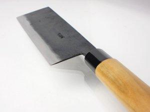 画像2: ・菜切り包丁 165mm  青紙 ベーシックシリーズ/切れ味抜群 無料研ぎ直し券付き
