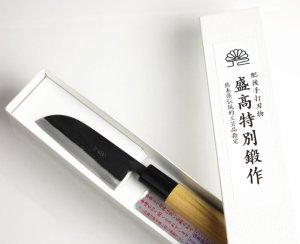 画像3: 皮むき包丁 95mm  青紙 ベーシックシリーズ/切れ味抜群 無料研ぎ直し券付き